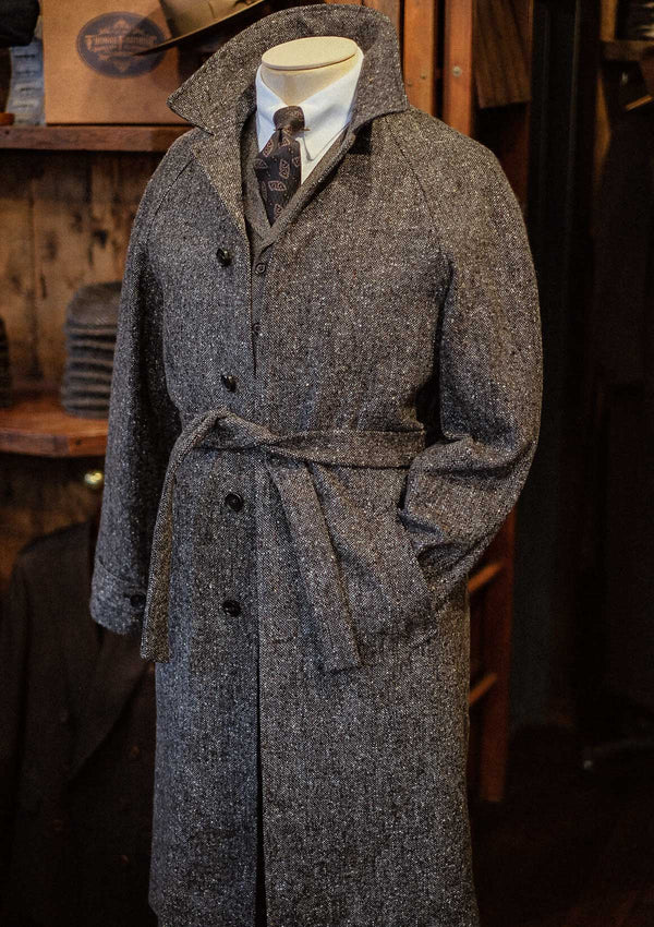 Horsley Raglan Overcoat - Pebble Beach