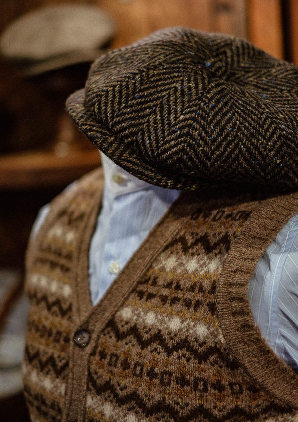 Lambert Fair Isle - Sand Button Down
