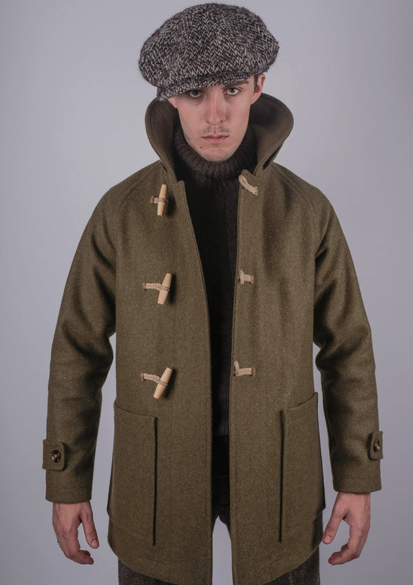 Mallory Duffle Coat - Forest Green
