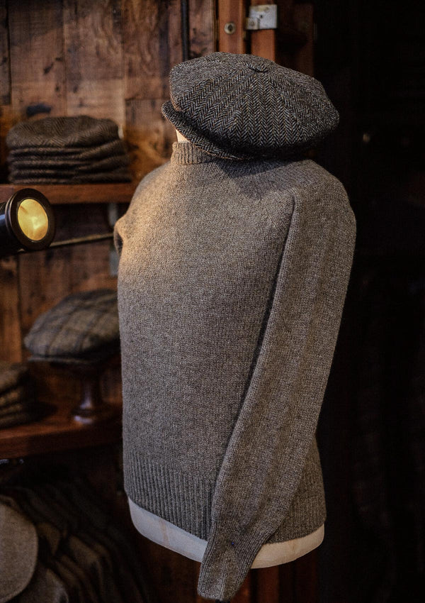 Mawson Lambs Wool Sweater - Oyster