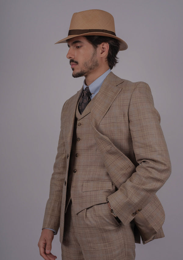 Paraiso Jacket - Prince Of Wales (Brown)