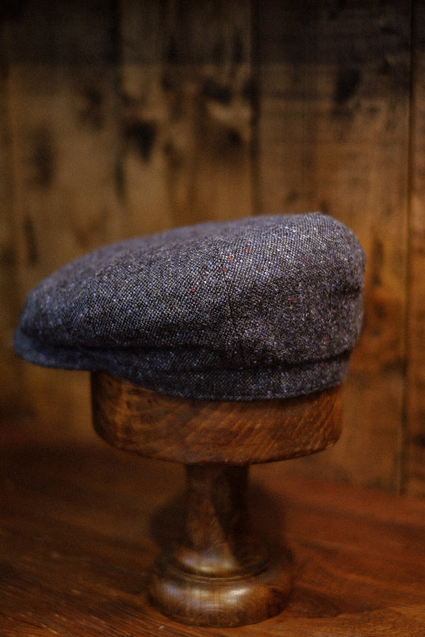 Ridgmount Baker Boy - Cobalt Blue Donegal Tweed