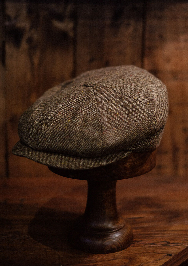Ridgmount Baker Boy - Light Tan Donegal Tweed