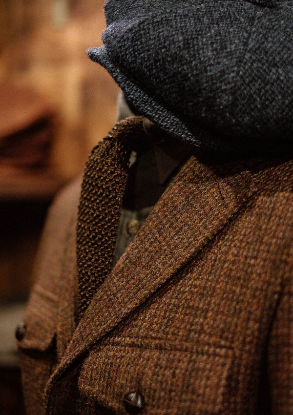 Woodrow Suit Jacket - Rust Harris Tweed