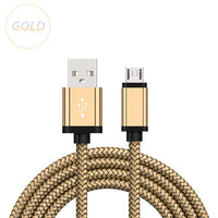 Micro USB Charging Cable For Samsung Galaxy A3/A5/A7 J3 2016 S6/S7/Edge 1/2/3 Meter Long Kabel Mobile Phone Charger Short Cord