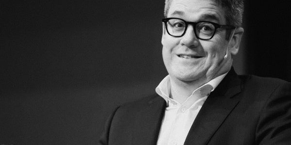 Photograph of Mark Ritson warning you not to mistake tactics for strategy