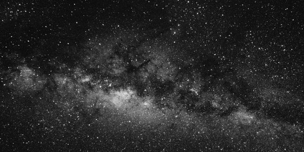 Photograph of the Milky Way in the night sky