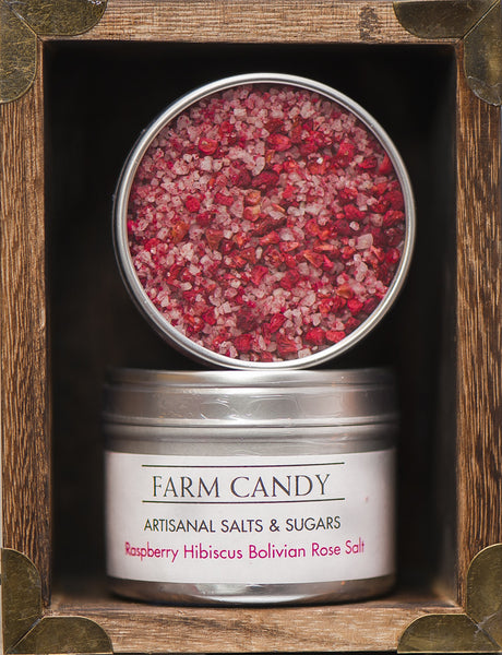 FC Salts Sugars & Spices-Raspberry Hibiscus Bolivian Rose Salt