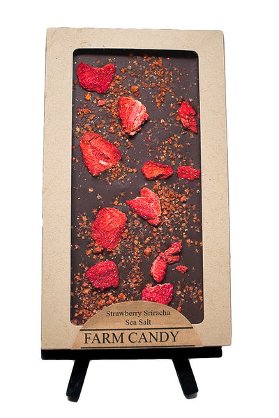 FC Gourmet Chocolate Strawberry Sriracha Dark