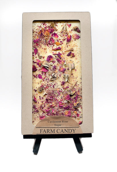 FC Gourmet Chocolate Cardamom Rose White