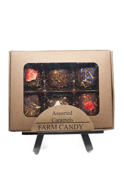 Assorted Caramels - 6 Piece