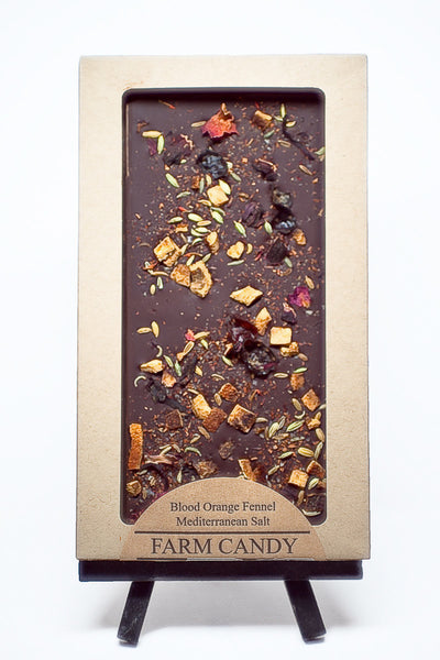 FC Chocolate Bar-Blood Orange Fennel Bar