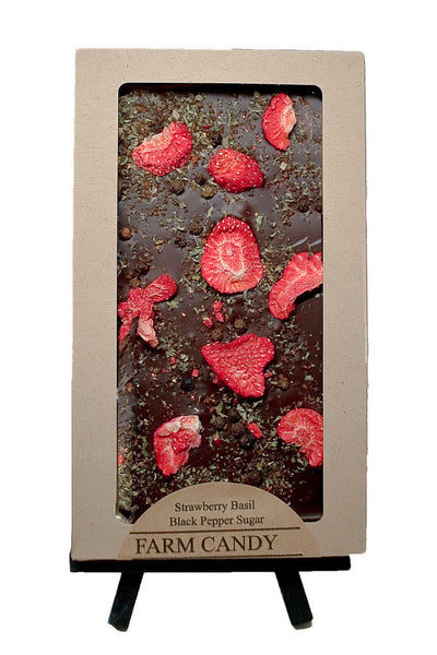 FC Gourmet Chocolate Strawberry Basil Dark