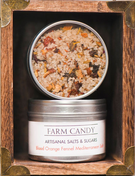 FC Salts Sugars & Spices-Blood Orange Fennel Mediterranean Sea Salt