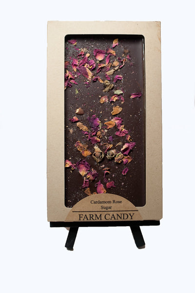 FC Gourmet Chocolate Cardamom Rose Dark