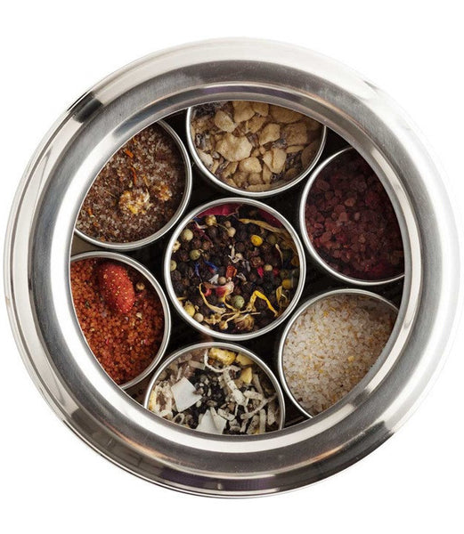 FC Salts Sugars Spice Box ~ Set of Seven
