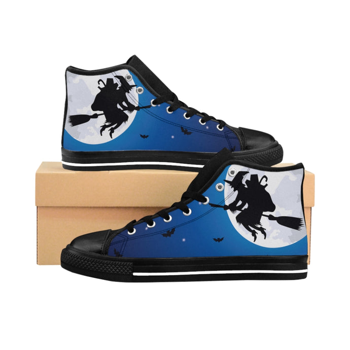 1 Women's High-top Sneakers Witch Way by Calico Jacks