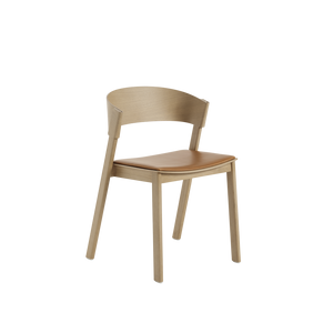 Open image in slideshow, Cover Side Chair (Upholstered Seat)