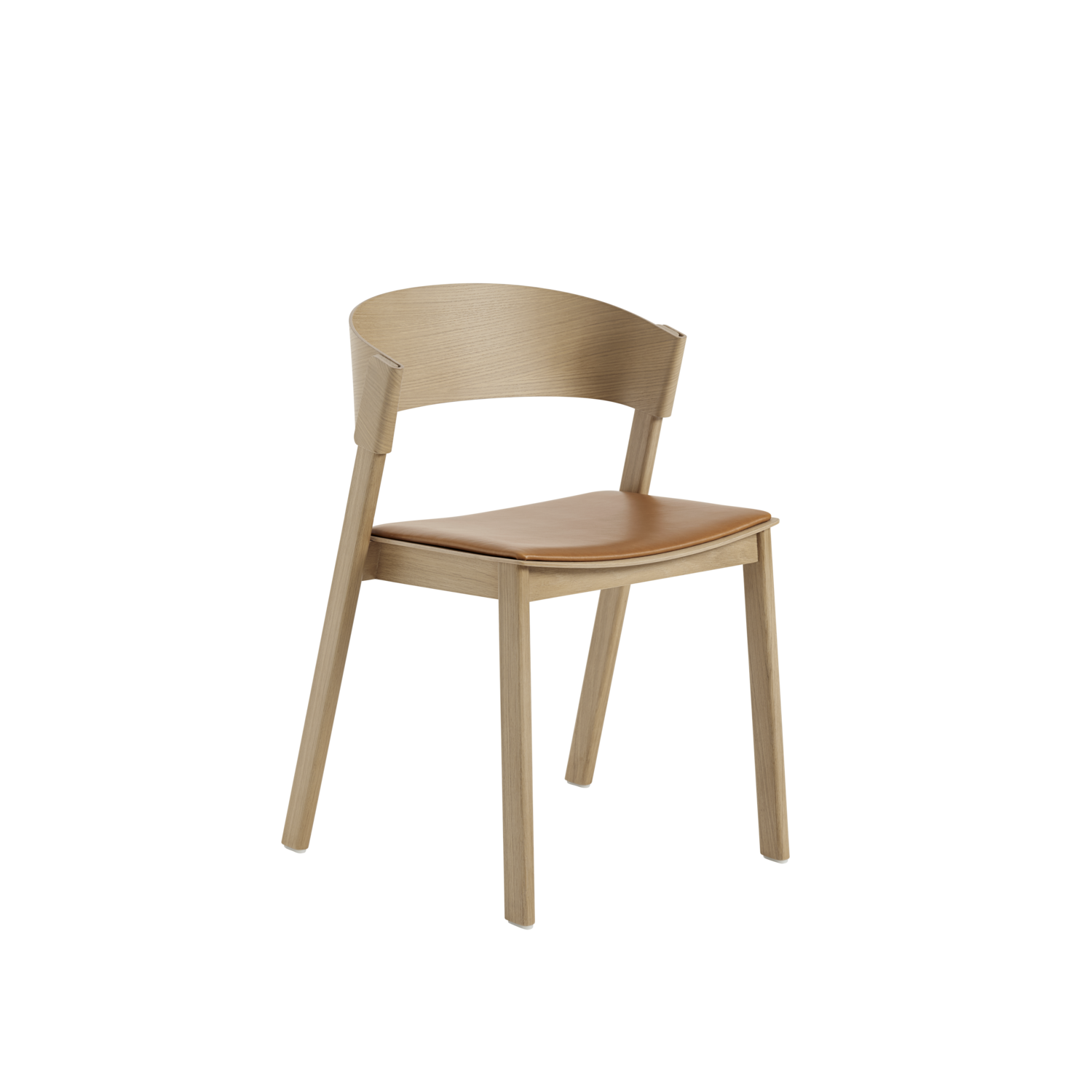 Cover Side Chair (Upholstered Seat)