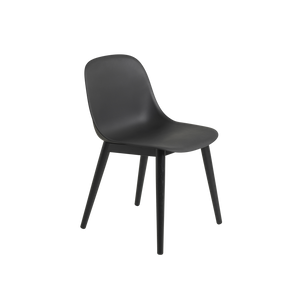 Open image in slideshow, Fiber Side Chair / Wood Base