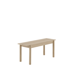 Open image in slideshow, Linear Wood Bench