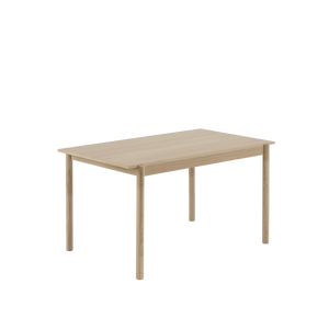 Open image in slideshow, Linear Wood Table