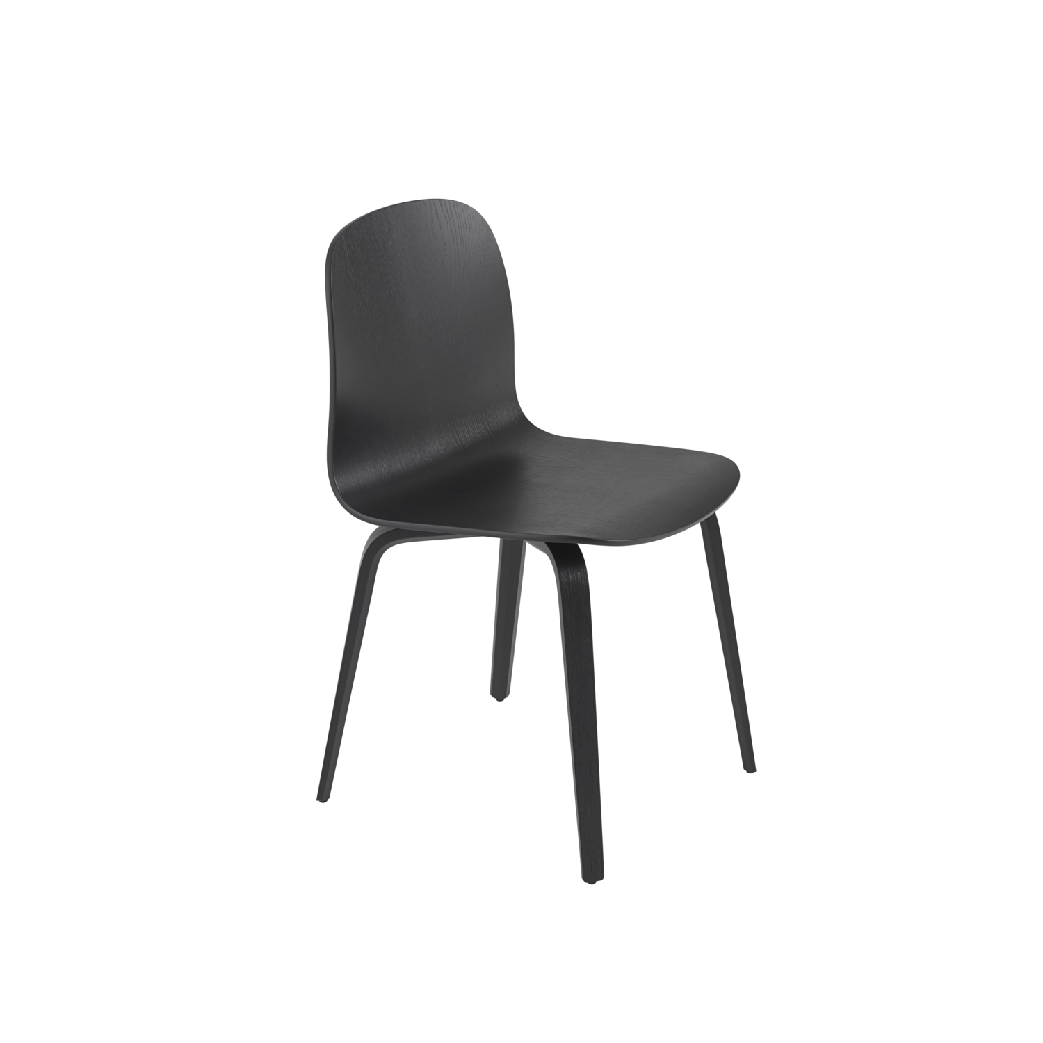 Visu Chair / Wood Base
