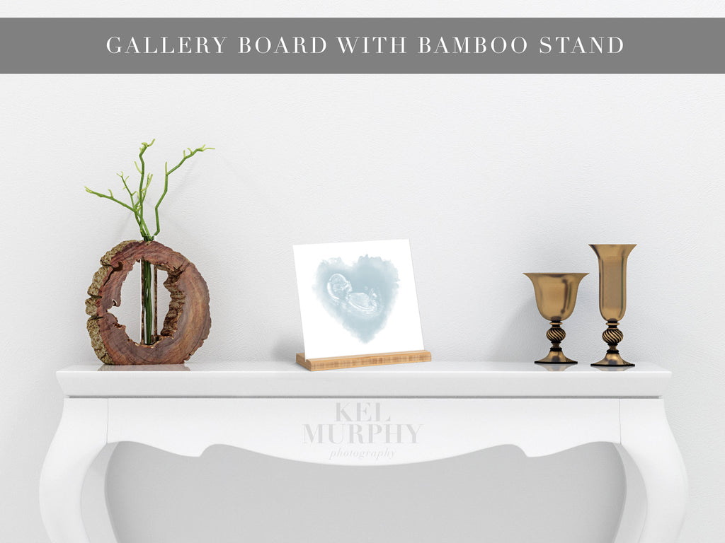 Gallery boards with bamboo stands print upgrade for ultrasound and embryo designs home decor