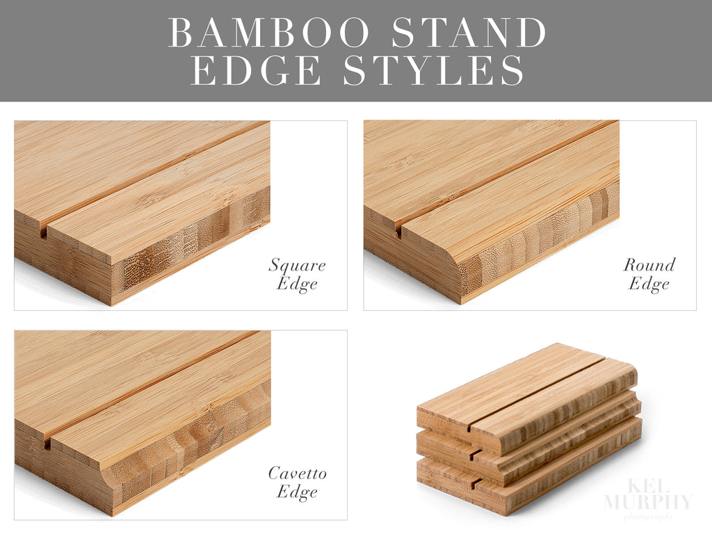 Gallery boards with bamboo stands edge styles print upgrade for ultrasound and embryo designs