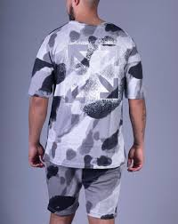 "ENSEMBLE CAMOUFLAGE CROSS GRIS ""IKAO"""