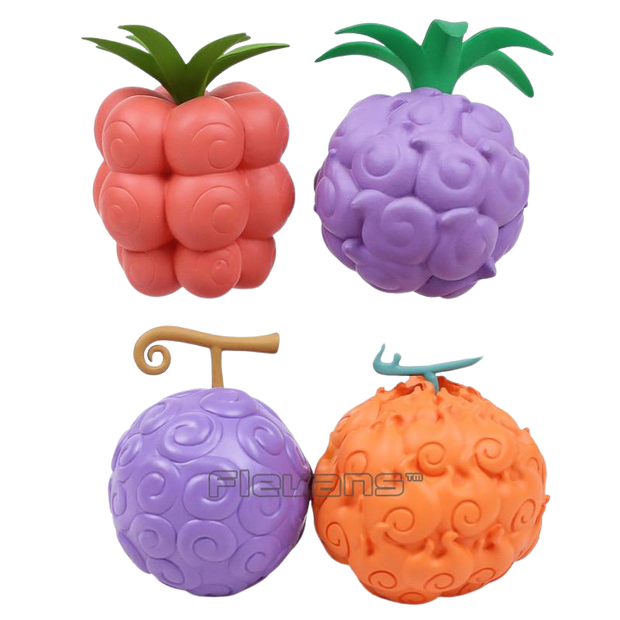 Figurine Pack N°1 de Fruits du Démon