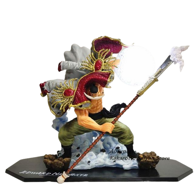Figurine One Piece de Edward Newgate