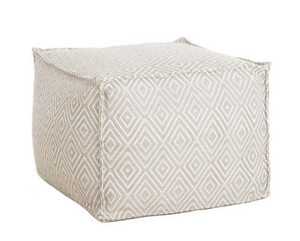 Diamond Indoor/Outdoor Pouf