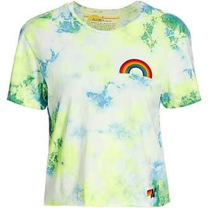 Rainbow Embroidery Boyfriend Tee