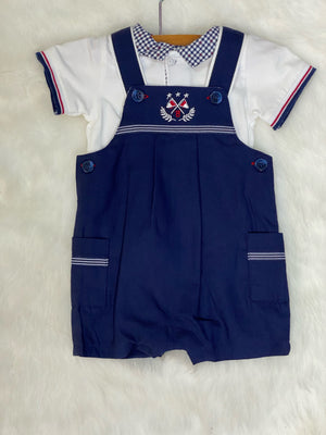 Mayoral Two Piece Navy Outfit