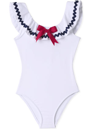 Stella Cove Sailor Inspired Swimsuit