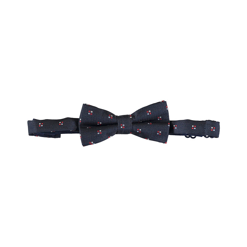 Mayoral 10087-058 Navy Jacquard Bow Tie