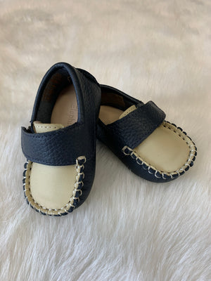 Elephantito Oliver baby shoes Blue