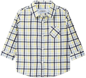 Mayoral 2130 Plaid button up