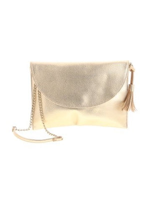 Mud Pie Gold Crossbody
