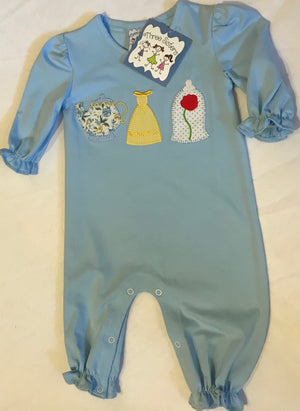 3 Sisters Beauty and the Beast Romper