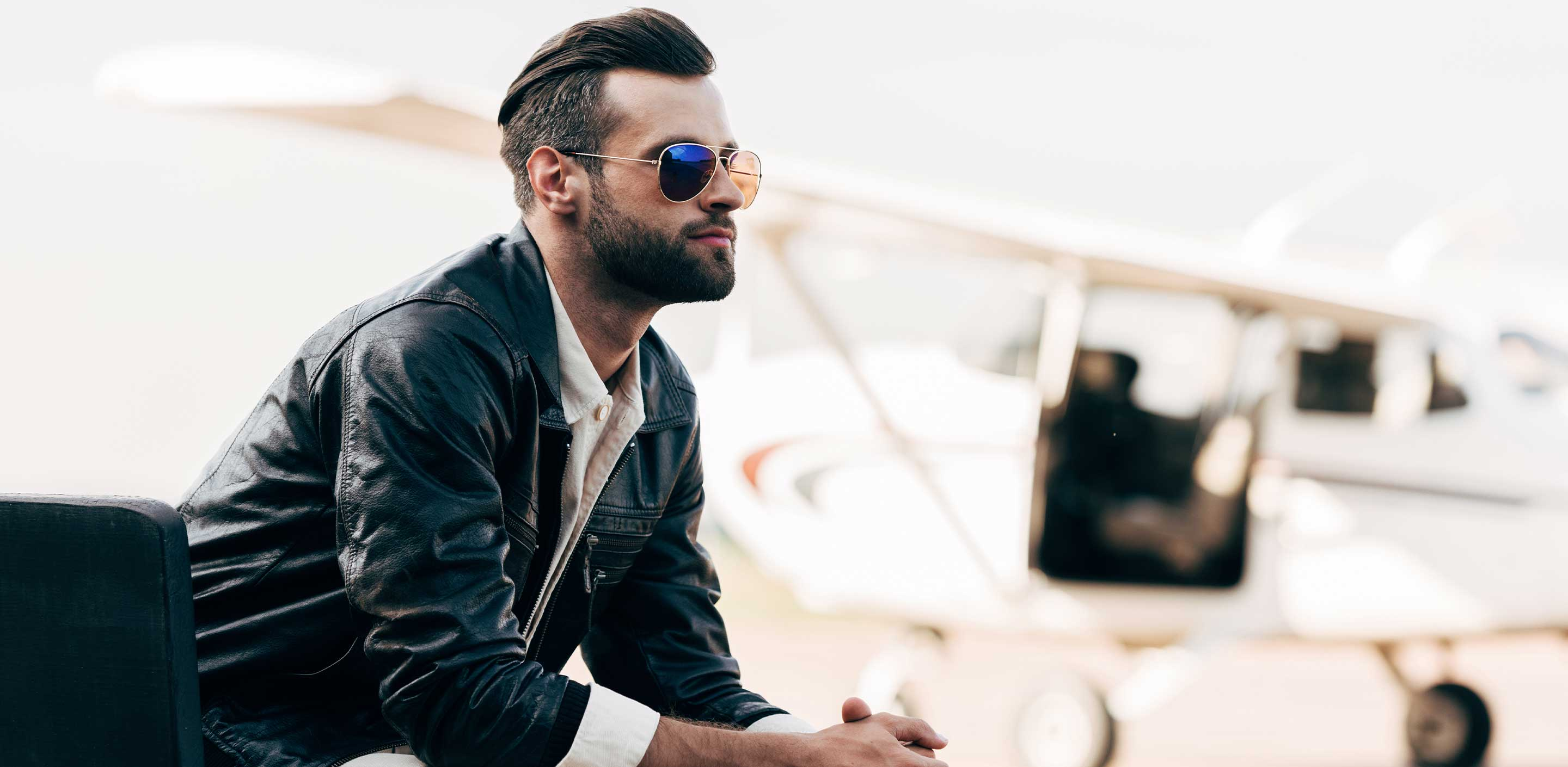 3 Perfect Men's Leather Bomber Jackets for New Year