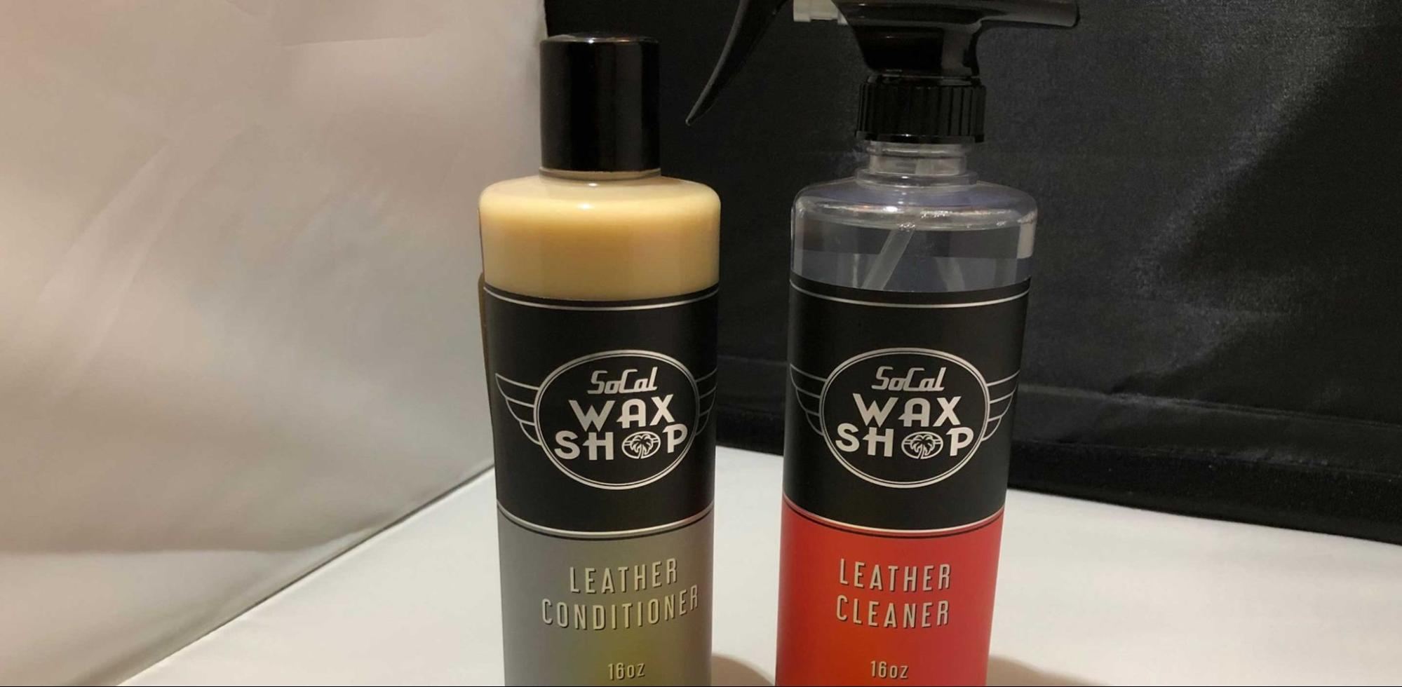 Apply Leather Conditioner