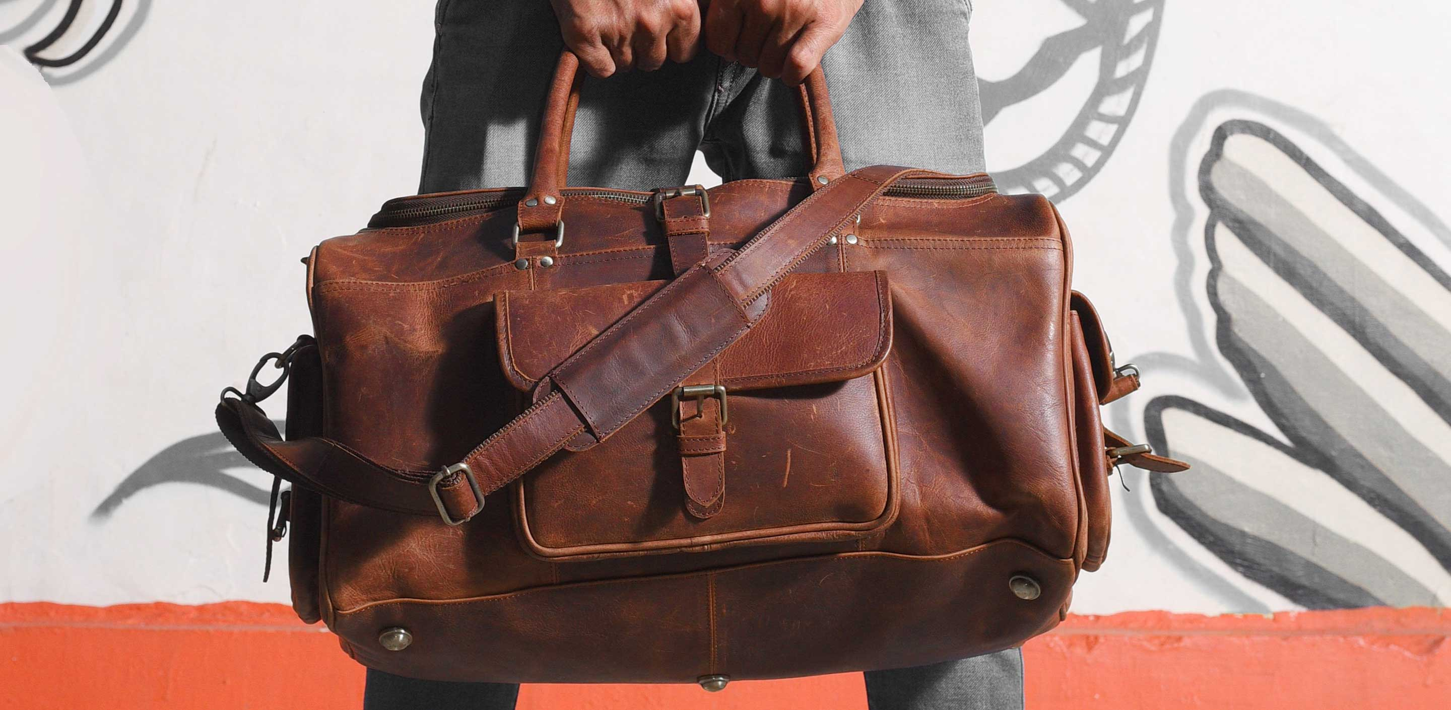 Are Leather Duffel Bags Allowed On Planes?
