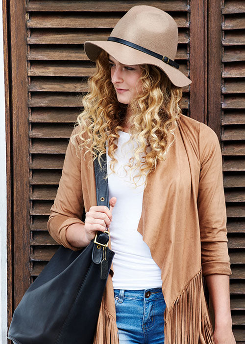 Are suede jackets in style?