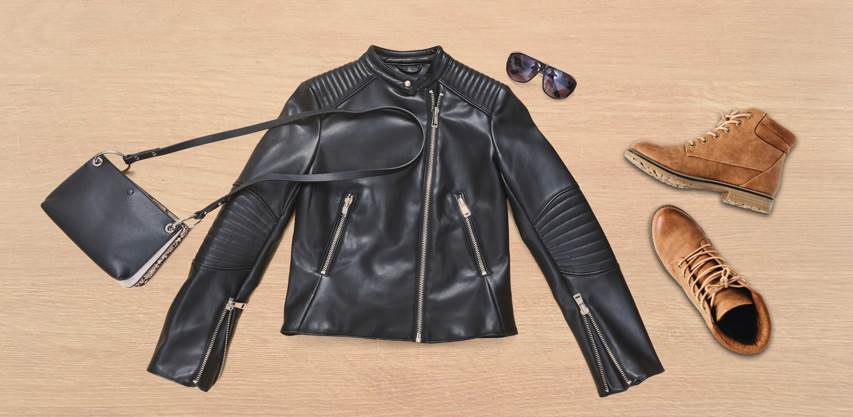 Black Leather Jacket With Brown Boots: The Perfect Duo