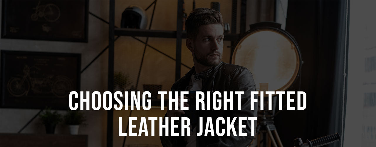 Choosing The Right Fitted Leather Jacket
