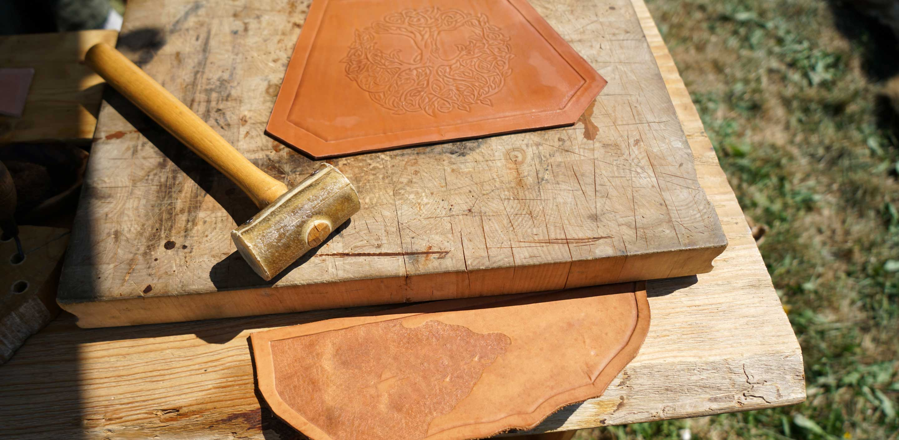 How to Engrave and Emboss Leather?