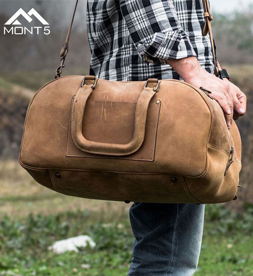 Hunza Leather Duffel