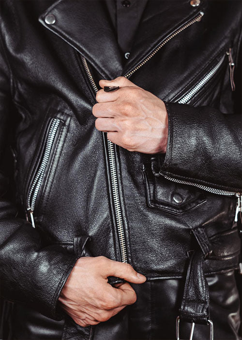 9 Rules to Follow When Wearing a Leather Jacket - Get The Right Fitted Jacket